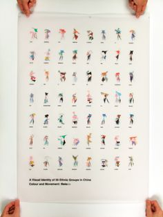 A Visual Identity of 56 Ethnic Groups in China - Home I Zhaodong Meng