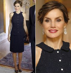 King Felipe and Queen Letizia attended a meeting with the U.S. Senate Foreign Relations Committee on September 15, 2015 on Capitol Hill in Washington, DC.