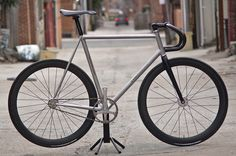 Montagne's all stainless track bike