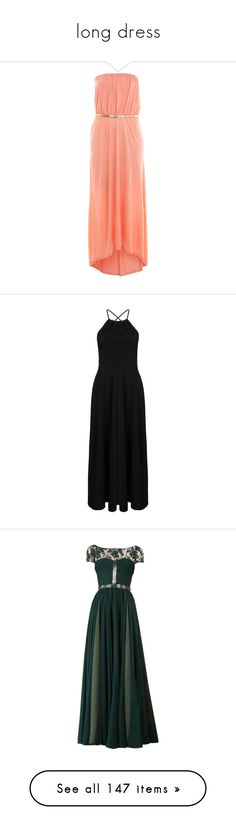 """""""long dress"""" by kerstinxx ❤ liked on Polyvore featuring dresses, vestidos, maxi dresses, long dresses, long red dress, high low maxi dress, red dress, hi low dress, long dress and backless dresses"""