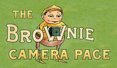brownie camera, my first. Film and getting it developed was always at odds w/me. lol  -- Now... Digital!!   ahhhh