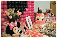 Minnie Mouse Birthday Party Ideas   Photo 6 of 37   Catch My Party