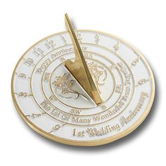 Looking For The Best Wedding Anniversary Gift? This Sundial Gift Is A Great Present For Him, Her Or Couple To Celebrate Their Year Looking For The Best Wedding Anniversary Gift? This Sundial Gift Is A Great Present For Him, Her First Wedding Anniversary Gift, Silver Anniversary, Anniversary Gifts For Him, Happy Anniversary, First Year Of Marriage, Presents For Him, Sundial, Meaningful Gifts, Gifts For Husband