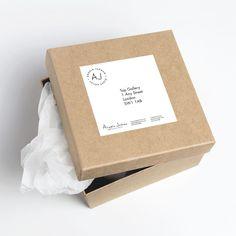 Portfolio project: Angela Jarman labels | Beehive Green Design Studio