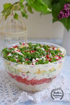 Wanilia i Kardamon: Warstwowa letnia sałatka Guacamole, Grilling, Lunch Box, Food And Drink, Tasty, Treats, Fresh, Pudding, Baking