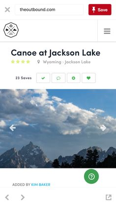 Canoe the Tetons