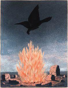 René Magritte - The Fanatics (Les Fanatiques), 1955