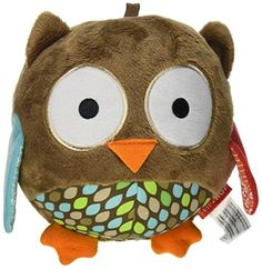 Skip Hop Treetip Friends Plush Owl Chime Ball Multi -- See this great product.Note:It is affiliate link to Amazon.