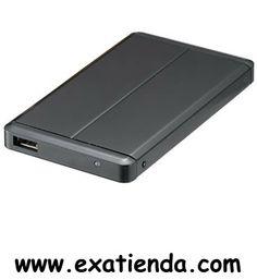 """Ya disponible Caja Unyka 2.5"""" SATA negra USB2.0    (por sólo 12.99 € IVA incluído):   -Porque cada vez más el tamaño sí importa, hemos creado este diseño ultra compacto y elegante con una estructura de alumino negro tan ligera que podrás transportarla en cualquier bolsillo. Incorpora un led de actividad para saber en todo momento el estado de tu HDD externo. Con un montaje rápido de disco duro y un cable de USB como alimentador podrás utilizarla en cualquier sitio"""