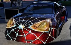 SPIDERMAN CAR, Just need to show this to my grandson!