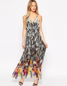 Traffic People Rise of the Phoenix Flaunt It Maxi Dress