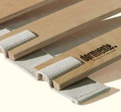 Listón de base de cama de madera de haya ~ ~ flexible Roll Out