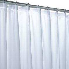 Vinyl Mildew Resistant Shower Curtain Liner 72 Inch By Frosty Curtains Width