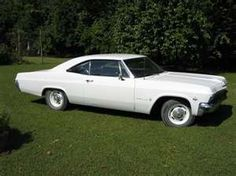 1965 Chevy Impala (similar to the one my father owned when he married my mother in 1966) #chevroletimpala1966