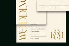 Our wedding identity / 2018 on Behance Invitation Cards, Invitations, Typo Logo, Branding, Event Photos, Identity Design, Portfolio Design, Our Wedding, Graphic Design