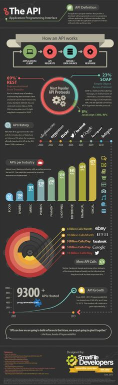 Application Programming Interface: The API - Infographic.