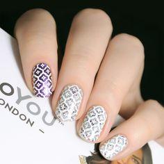 London Brands, Floral Nail Art, Stamping Nail Art, Arabesque, Nail Art Designs, My Style, Art Nails, Bikini, Inspiration
