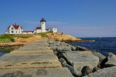 Eastern Point Lighthouse by jwkeith, via Flickr