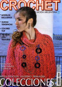 Butterfly Creaciones: revista crochet moda argentina 1