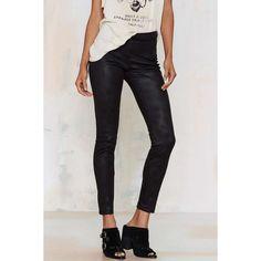 Glamorous Skynard Panel Leggings ($58) ❤ liked on Polyvore featuring pants, leggings, black, panel leggings, black pants, black trousers, black leggings and thin leggings