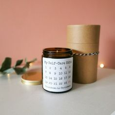 Christmas Countdown Gingerbread Advent Candle