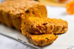 Pumpkin Cranberry Holiday Loaf. Vegan recipe!