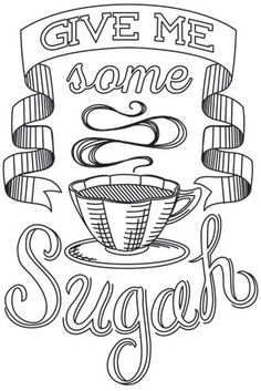Spice It Up - Give Me Some Sugah | Urban Threads: Unique and Awesome Embroidery Designs