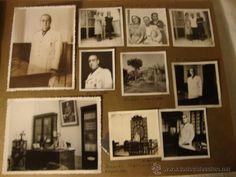 ANTIGUO LOTE COLECCION FOTOGRAFIAS ORIGINALES VILLENA ALICANTE 1939 ALTO MANDO FALANGE JONS