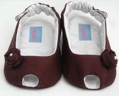 Peep Toe para bebês com estilo!