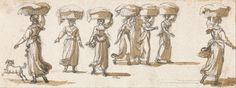 Paul Sandby - Washerwomen - (1790-1805) | Google Art Project