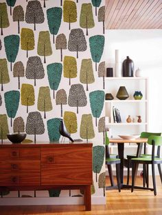 Buy Scion Cedar Wallpaper Online at johnlewis.com