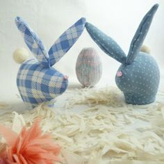 Cute Rabbit Miniature / Easter Bunny pattern - Toy Tutorial - Instructions - PDF - DIY softies by Soles