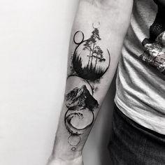 #samsaratattoo #blacktattoomag #ttblackink #taot #inkstinctsubmission #blackworkerssubmission #iblackwork #theblackmasters #tattoo #tattooart #tattooartist #tattooed #tattedup #tatted #tattrx #tattoos #equilattera #tttpublishing #tttism #inkapture #btattooing #inkstylemag #world_tattoo_gallery #thinkbeforeuink #inspirationsoftattoo #tattoo2me #tree #mountains #waves #forest