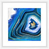 Found it at Joss & Main - Geoid Framed Giclee Print