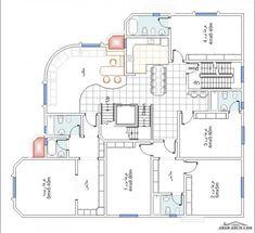 House Layout Plans, Family House Plans, Dream House Plans, House Layouts, House Floor Plans, House Floor Design, House Outside Design, Home Design Floor Plans, Double Storey House Plans