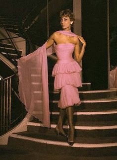 Vintage Fashion: Chanel, 1958.