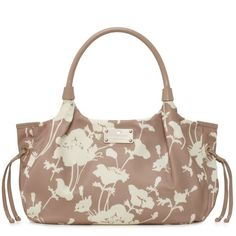 Floral 300 Nylon Stevie by Kate Spade in fawn