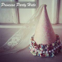 Bridgey Widgey: Princess Party Hat  Great Idea for Isabel's next birthday party