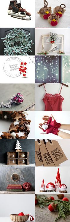 Christmas RED  by Marin K on Etsy--Pinned with TreasuryPin.com