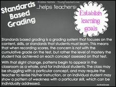 Walking Through Standards Based Grading: Part 2 WHY IMPLEMENT STANDARDS BASED GRADING- Young Teacher Love by Kristine Nannini
