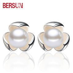 Fashion Women Pearl Earring,women 925 Sterling Silver Earrings;popular Jewelry;noble And Elegant;holiday Necessities Bijoux Earrings Jewelry & Accessories