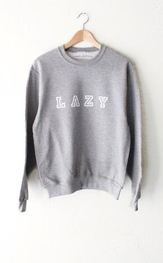 Lazy Oversized Sweater - Grey