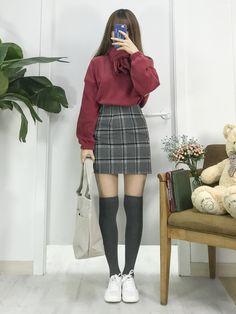 31 ideas fashion asian winter casual for 2019 Fashion Moda, Cute Fashion, Look Fashion, Trendy Fashion, Girl Fashion, Fashion Design, Kawaii Fashion, Winter Fashion, Korean Fashion Trends