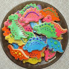 Dinosaur cookies :)