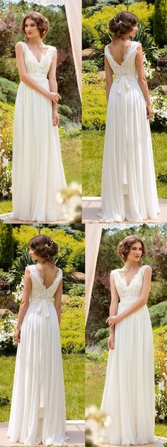 Simple wedding dress. Forget about the groom, for the moment lets focus on the bride-to-be whom views the wedding ceremony as the greatest day of her lifetime. With that reality, then it is definite that the wedding dress must be the best.