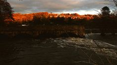 Winter evenings dusk on River Derwent (1)