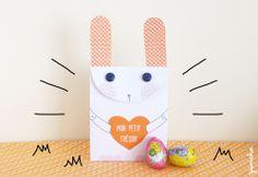 paques YUMICHA2 - Sac Lapin de Pâques à imprimer