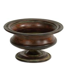 Look what I found on #zulily! Round Pedestal Planter #zulilyfinds