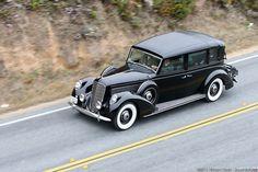 1938 Lincoln Model K Brunn 7-Passenger Semi-Collapsible Cabriolet