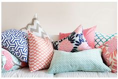 Could add fun colors and prints with pillows to go w dark leather couches?